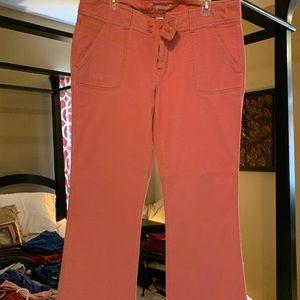 Pink corduroys